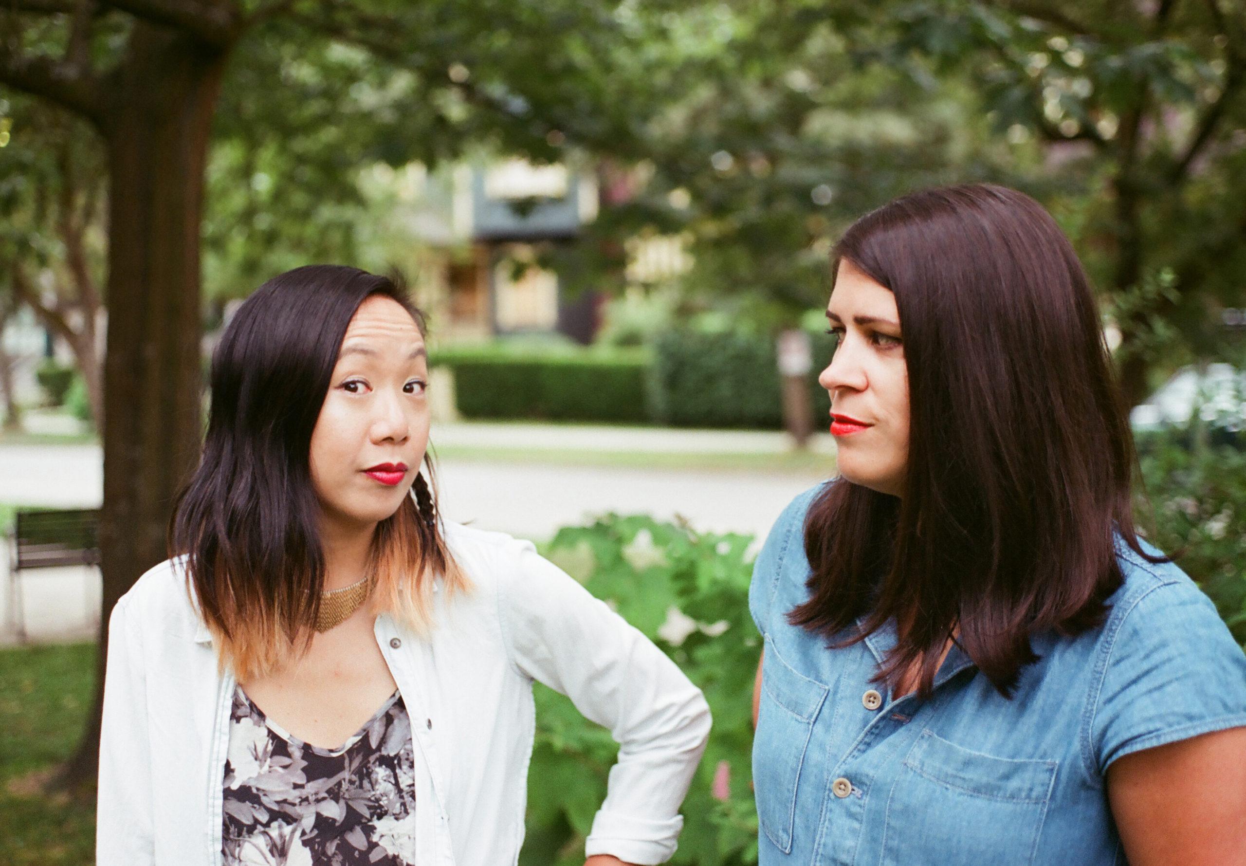 Jen and Dina