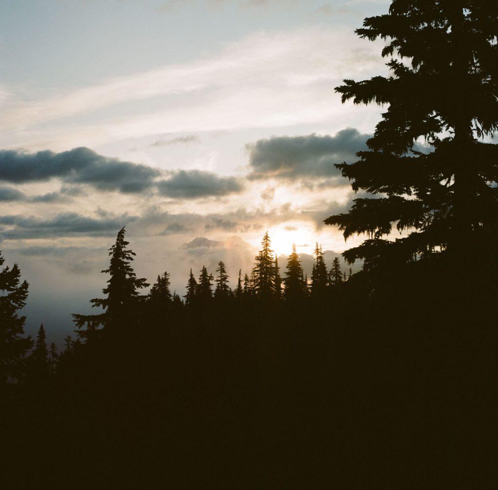 Sunset in Squamish